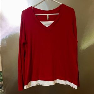Ladies Size XL 100% Cotton Top by White Stag